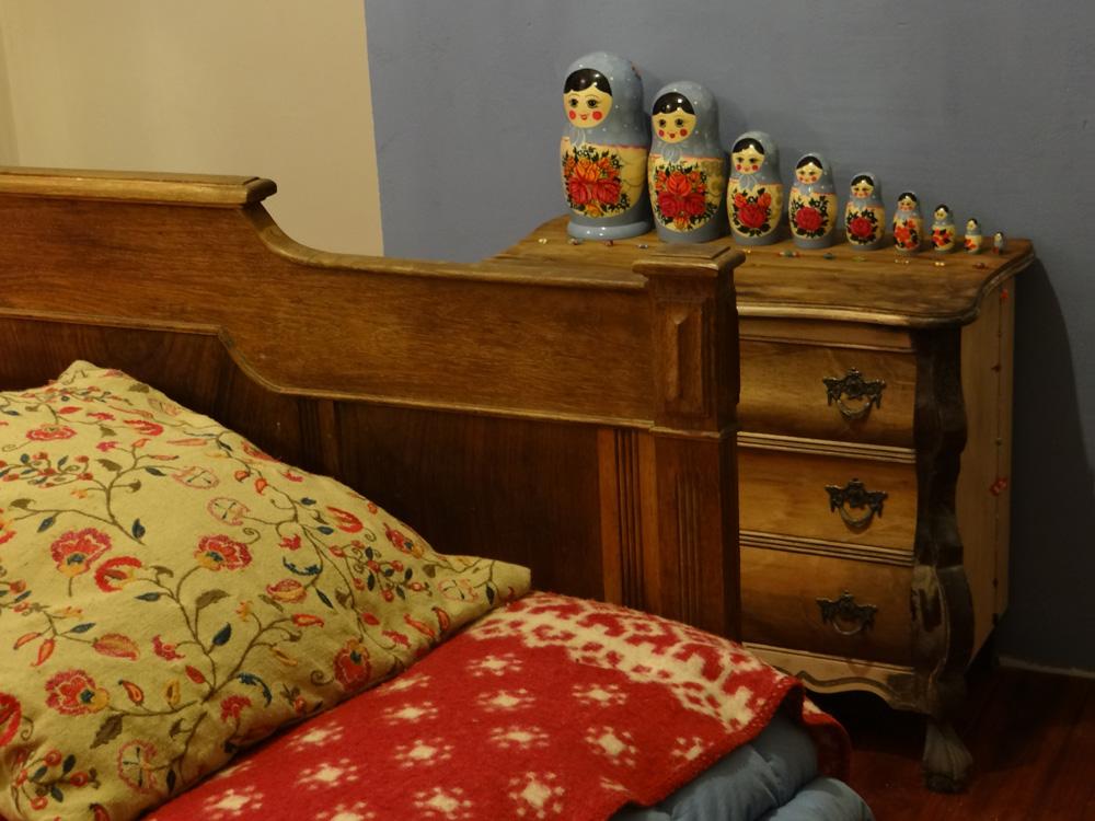Ruth haar slaapkamer.