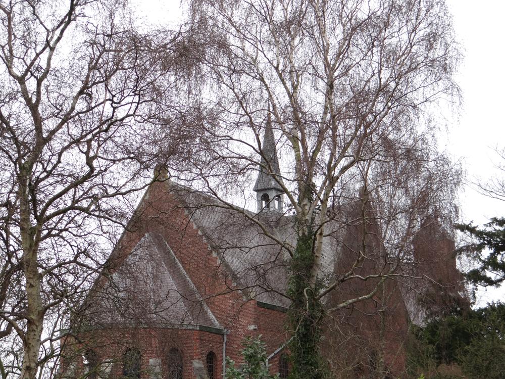 kerk zijaanzicht zuid-west