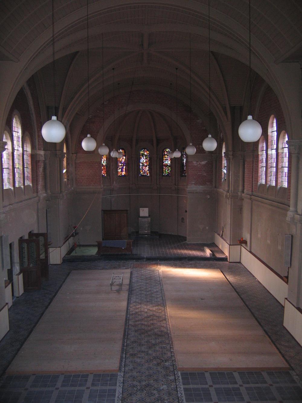 de kerk in 2004